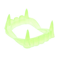 Luminous False Teeth for Halloween