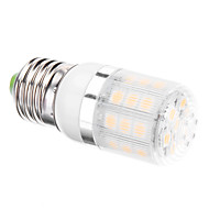 E26/E27 3.5 W 24 SMD 5050 300 LM Warm White T Corn Bulbs AC 110-130 / AC 220-240 V