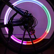 Luces para bicicleta , luces de la rueda / luces intermitentes tapa de la válvula - 1 Modo Lumens AG10 Batería Ciclismo/Bicicleta