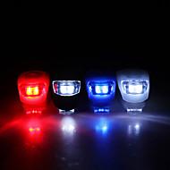 Sicurezza posteriore Flash Light 3-Modes Super lampada luminosa per biciclette Eccellente silicone LED