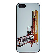 Refined Deluxe Pistol Pattern Anti-scratch Matte PC Hard Case for iPhone 5/5S
