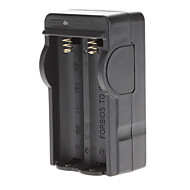 Battery Charger for 18650 Battery Black