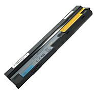5200mAh erstatning laptop-batteri for Lenovo S10-3 U160 57Y6442 57Y6446 L09S6Y14 L09M6Y14 - Svart