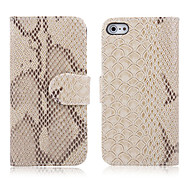 Snakeskin Grain Leather Case for iPhone 4/4S