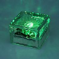 Cambiare colore di energia solare di cristallo mattoni di terra sepolto Luce Decking Vialetto Garden Path