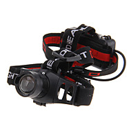 Headlamps LED 3 Mode 240 Lumens Adjustable Focus Cree XR-E Q5 AAACamping/Hiking/Caving / Everyday Use / Cycling / Traveling / Working /