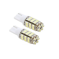 2pcs 42-SMD T15 12V LED ampoules de rechange + VOITURE 921 912 906 - Blanc