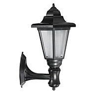 Solar Powered LED Outdoor Garden Path Yard Security Wall Light Landscape Lamp