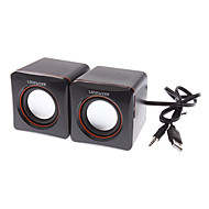 LF-701 Stereo Mini Speaker Box para Laptops