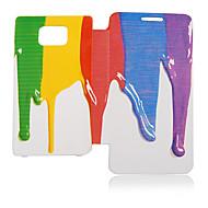 Third Dimension Oil Paint Leather Case for Samsung Galaxy S2 I9100