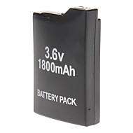 1800mAh Akku + Rechargeale Zurück Tasche für Sony PSP 1000 1001