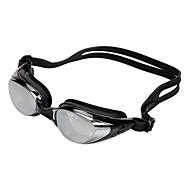 Divatos Anti-köd és vízálló Galvanizálás szilikon Unisex Úszás Glass / Goggles