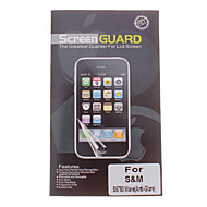 Professional matt antirefleks LCD Screen Guard Protector for Samsung S5780 Wave