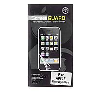 Professional Heijastamaton LCD Screen Guard puhdistusliina iPhone 4/4S