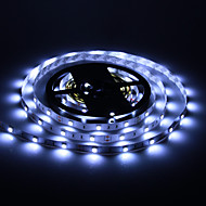 5M 30W 30x5050SMD 1500-1800LM 6000-7000K Cool White Light LED stripe lys (DC12V)