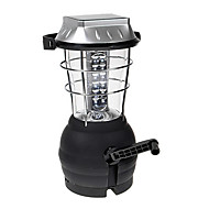 Super Bright Outdoor Solar Powered vev Camping Lantern med 36-LED och vev nöddrift