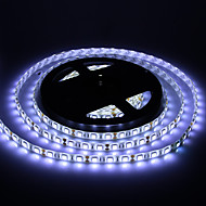 Vanntett 5M 60W 60x5050SMD 3000-3600LM 6000-7000K Cool White Light LED stripe lys (DC12V)