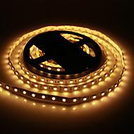 5M 60W 60x5050SMD 3000-3600LM 2800 3200K varmt hvidt lys LED Strip Light (DC12V)