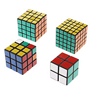 NEW ensemble de shengshou 2x2, 3x3 et 4x4 5x5 noir torsion casse-tête Printemps Speed ​​Magic Cube
