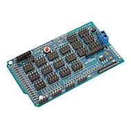 Mega-io Sensor-Erweiterungs Schild / Board für (für die Arduino) Mega v1.2 (funktioniert mit offiziellen (für Arduino) Platten)