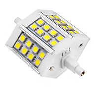 5W R7S Spot LED 24 SMD 5050 440 lm Blanc Froid AC 85-265 V