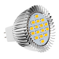 GU5.3 / E26/E27 5 W 16 SMD 5630 420-450 LM Warm White Spot Lights AC 220-240 V