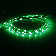 0.9M 10W 54x5630SMD 700LM Green Light LED Strip Light (DC 12V)