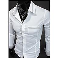Man's Long Sleeve Cotton Shirts