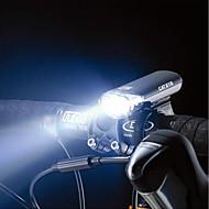 5 geleide fiets zwart veiligheid voorlicht
