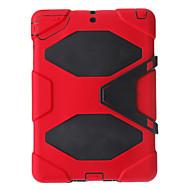 Militaire Duty PC + Siliconen Combo Case voor iPad Air met Kicktand