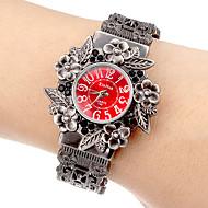 Mujer Reloj de Moda Cuarzo Aleación Banda Brazalete Gris Marca-