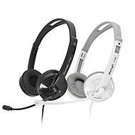 DANYIN DT-385S Stereo Over-Ear Headphone with Mic and Remote for PC/iPhone/iPad/Samsung/iPod