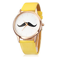 Women's Watch Minimalism Design Beard Pattern