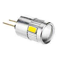G4 3.5 W 6 SMD 5730 280 LM Warm White Corn Bulbs DC 12 V