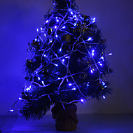 3W 96-LED 210LM Blue Light LED Strip Light for Christmas Decorations (24V)