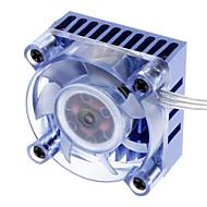 AK-210 Chipset 3-hi-bright Blue LED Low-noise Cooler for PC