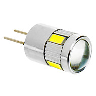 daiwl g4 3.5W 6x5730smd 280lm 5500-6500k viileä valkoinen valo johti maissi lamppu (12v)