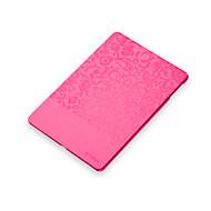 Knurling caixa projetada completa couro corpo elegante para iPad Air (cores sortidas)