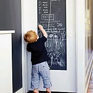 diy muurstickers verwijderbare wasbare milieuvriendelijke schoolbord muur stickers krijtjes inbegrepen