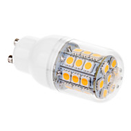 GU10 6W 31 SMD 5050 530 LM Warm White T LED Corn Lights AC 220-240 V