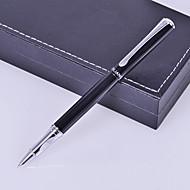Personlig gave Erhverv Style Black Metal gravering Ink Pen