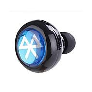 hörlurar bluetooth v3.0 i hörselgången mini stereo med mikrofon för mobiltelefon