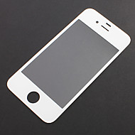 Hvit Front Screen Glass Lens Repair Replacement for iPhone 4S