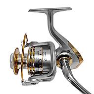 Fiskerullar Spinning Reels 4.7:1 12 Kullager HÖGERHÄNT / utbytbar / VÄNSTERHÄNT Sjöfiske / Bait Casting / Färskvatten Fiske - GF7000HAI