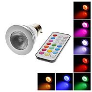 B22 4W 200LM RGB 빛은 IR 원격 제어 (AC100-240V)과 함께 자리 전구를 LED