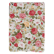 Charming Rose Pattern Textile Hard Case for iPad Air
