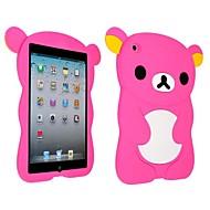 Cute Bear Silicon Soft Case for iPad mini 3, iPad mini 2, iPad mini