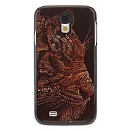 삼성 갤럭시 S4 I9500를위한 표범 회화 패턴 알루미늄 단단한 케이스 덮개