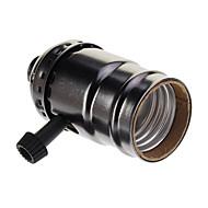 Fekete bevonatú csavar Lampholder (250W, 250V)