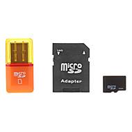 8gb microSDHC TF kort med SD SDHC adapter og USB-kortlæser